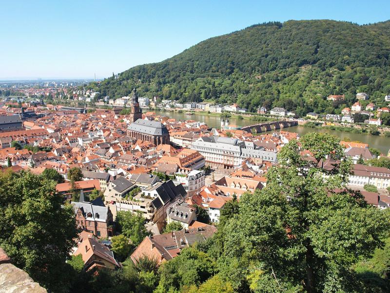 10. Heidelberg, Německo